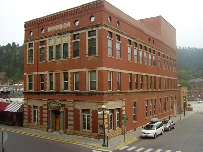 Lodge Masonic Temple http://mastermason.com/Deadwood7/Deadwood_Masonic_Lodge/Welcome.html